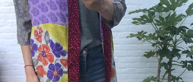 Kimono Sissel Edelbo geel 39499