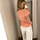 Thumbnail: T shirt peche Colorful Standard 40441