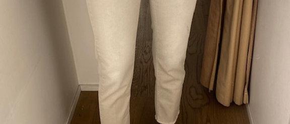 Jeans licht grijs/beige Closed 39097