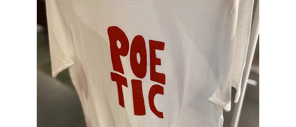 T-shirt Closed print rood