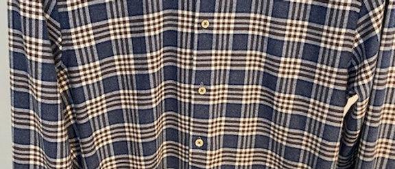 Heren hemd ruiten Stenstroms 39845