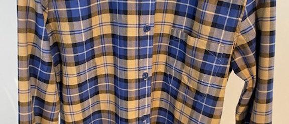 Heren hemd ruitjes Good people 39790