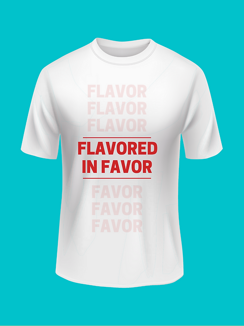 Flavored in Favor stacked