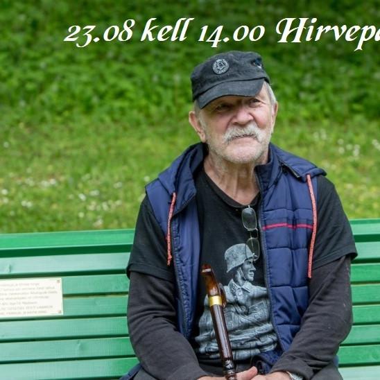 Tiit Madissoni autasustamine Eesti Rahva Tänumedaliga Hirvepargis