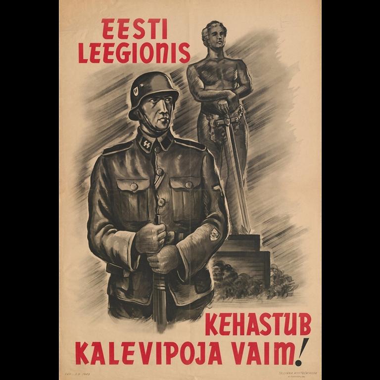 Eesti Leegioni päeva tähistamine Grenaderimäel