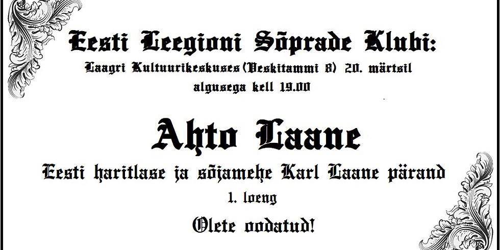 Eesti haritlase ja sõjamehe Karl Laane pärand