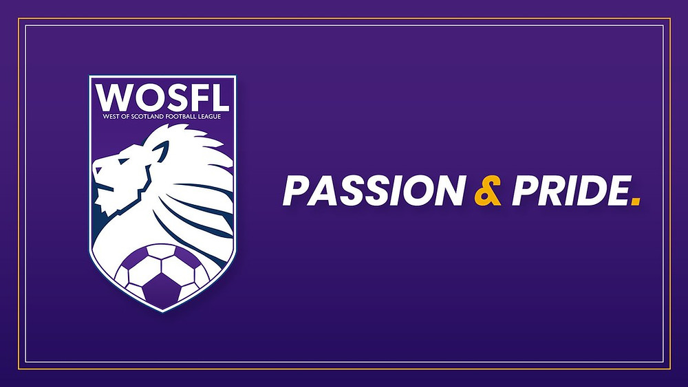 The West of Scotland Football League logo, including test: Passion & Pride.