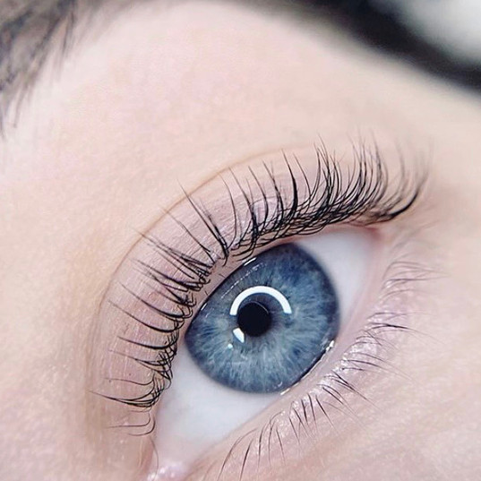 Lash Lift (Perm) and Tint. Lasts up to 8 weeks.