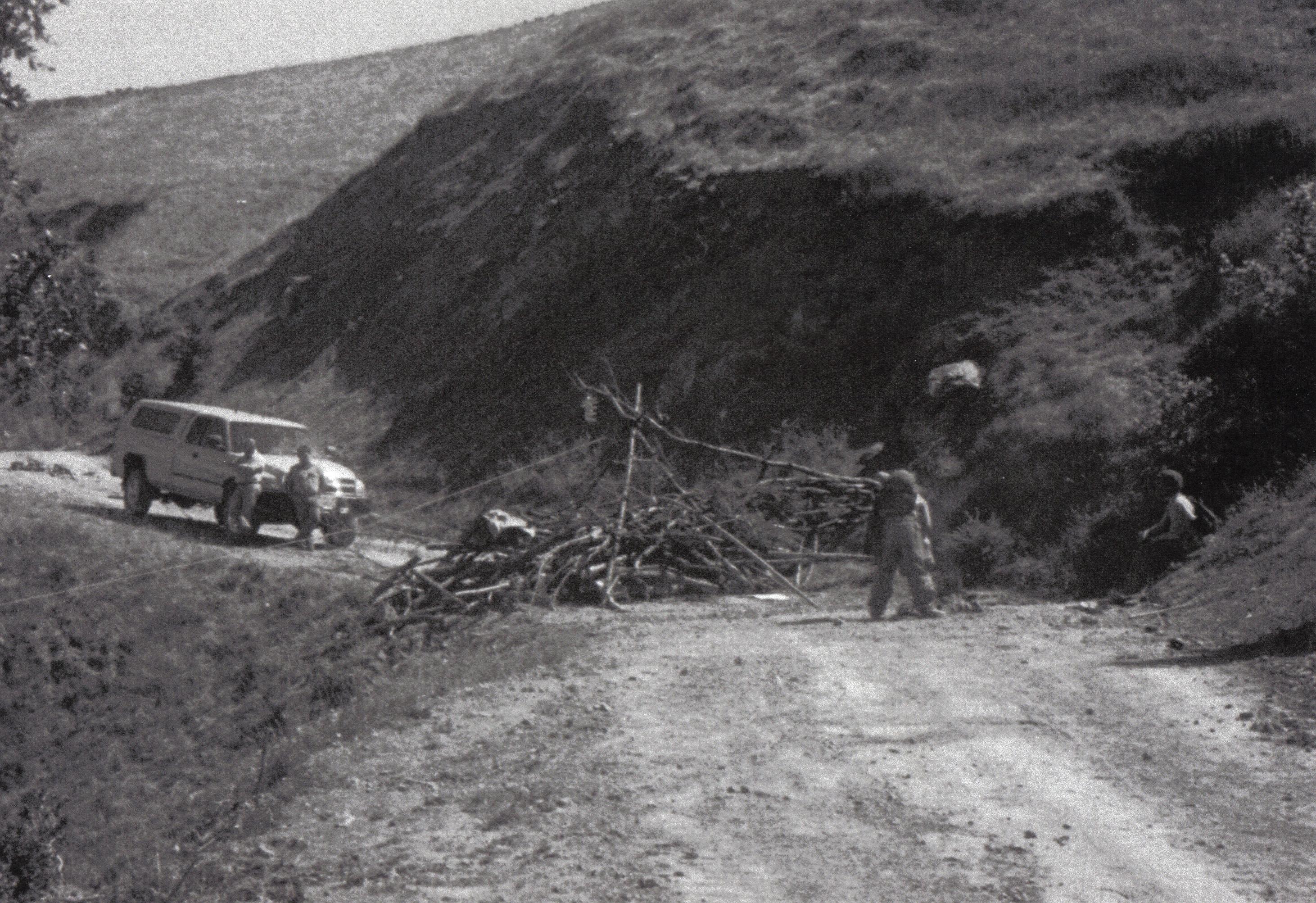 Mattole Road Blockade
