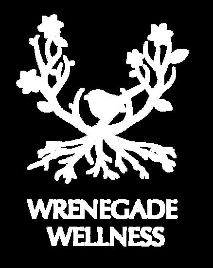 Antler logo and wren bird in tree designed by Layla Ann Lugo logo designer in the Hudson Valley, Newburgh New York