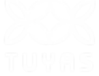 Floral Logo for Tuyas Comida & Cantini in Ferndale California. Logo Designed by Layla Ann