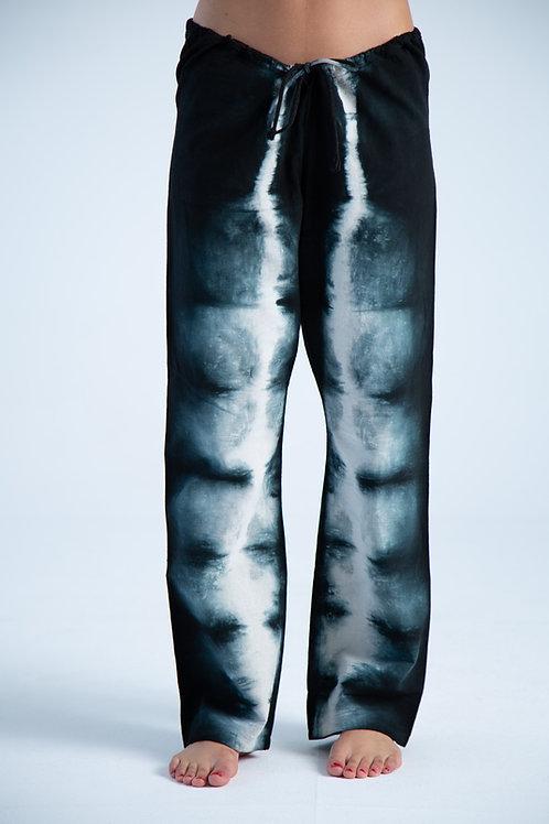 Guillermo Black Tye Dye Pants