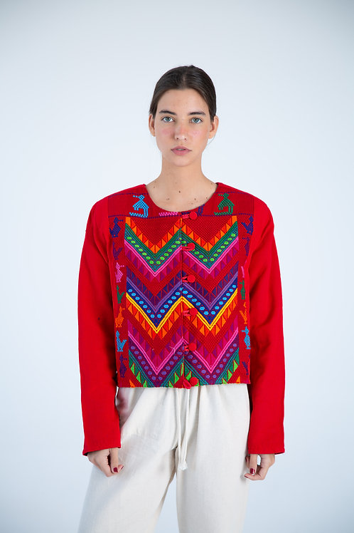 Mexican Jacket - Red