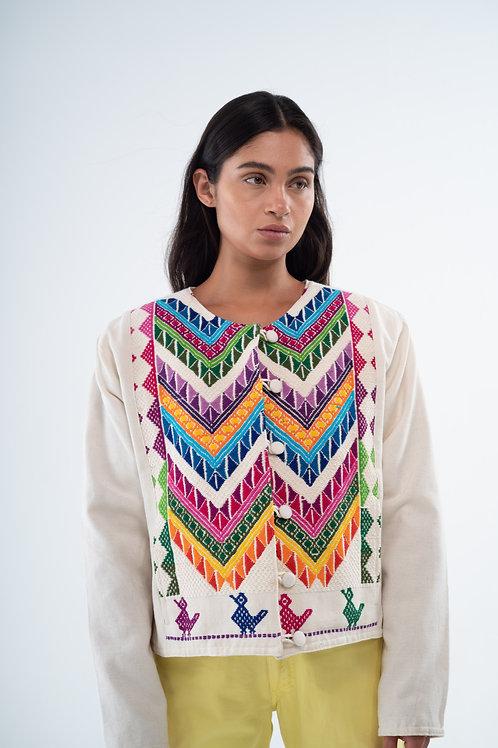 Mexican Jacket - Rainbow