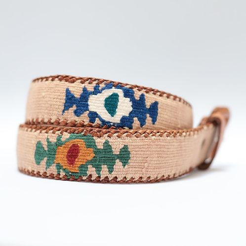 Light Cream Mexican Belt