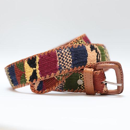 Brown Mix Color Mexican Belt