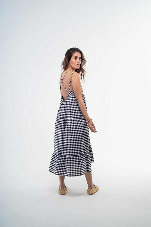 Julieta Dress - Vichy Black