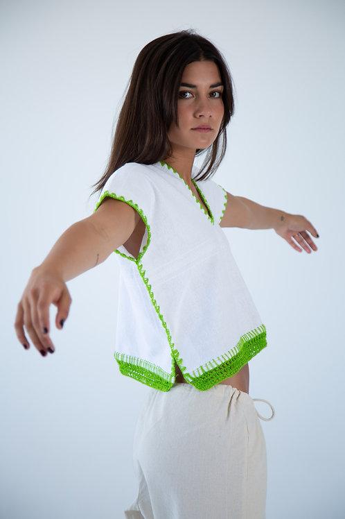 Jacinta Top - Green