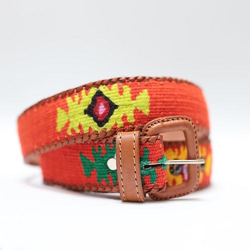 Orange Mexican Belt