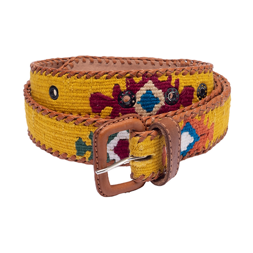 Yellow Mexican Belt