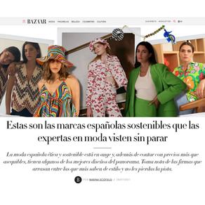 HARPERS BAZAAR - Estas son las marcas españolas sostenibles que las expertas en moda visten sin par