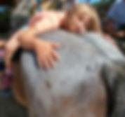 Kinder Stärken, Kinder Stärken, Pferde Stärken Therapie Pferd Obelix