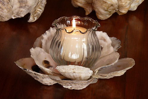Ruffled Edge Candleholder