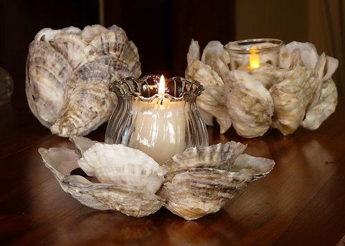 Oyster Shell Candleholder