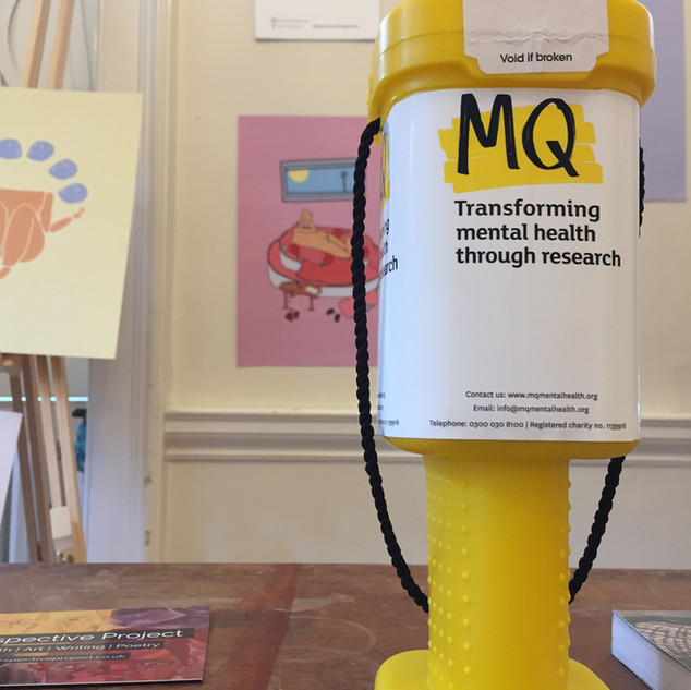 Proceeds of the event went to MQ, a mental health research charity.