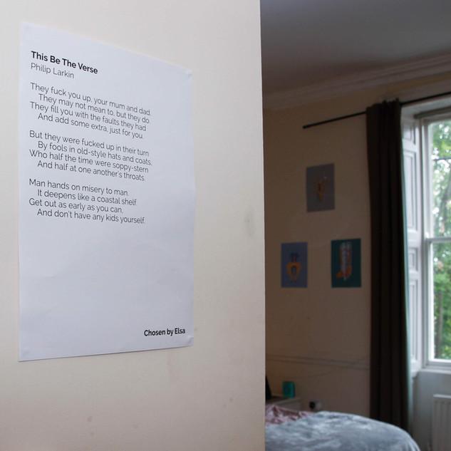 Poetry by Philip Larkin, with Art from Lauren Drinkwater