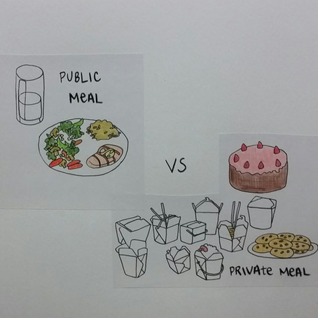 Public Meal vs Private Meal