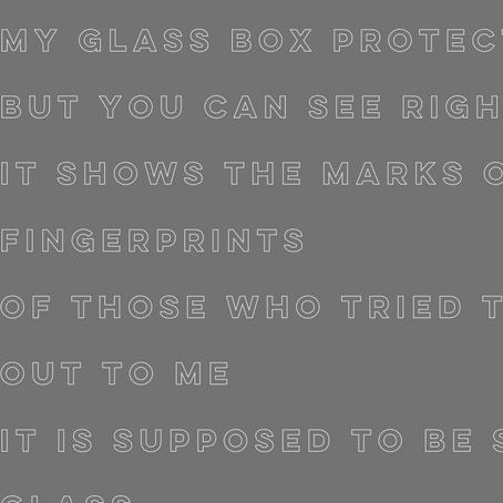 Glass - Julie Tsiricos