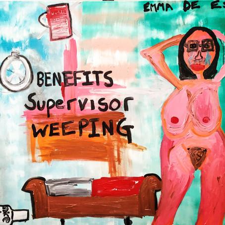 Benefits Supervisor Weeping
