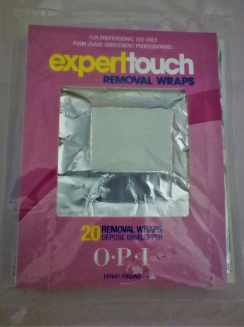 Expert Touch Removal Wrap 20 pièces