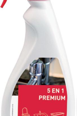 5 en 1 Premium pour Sanitaires 750 ml