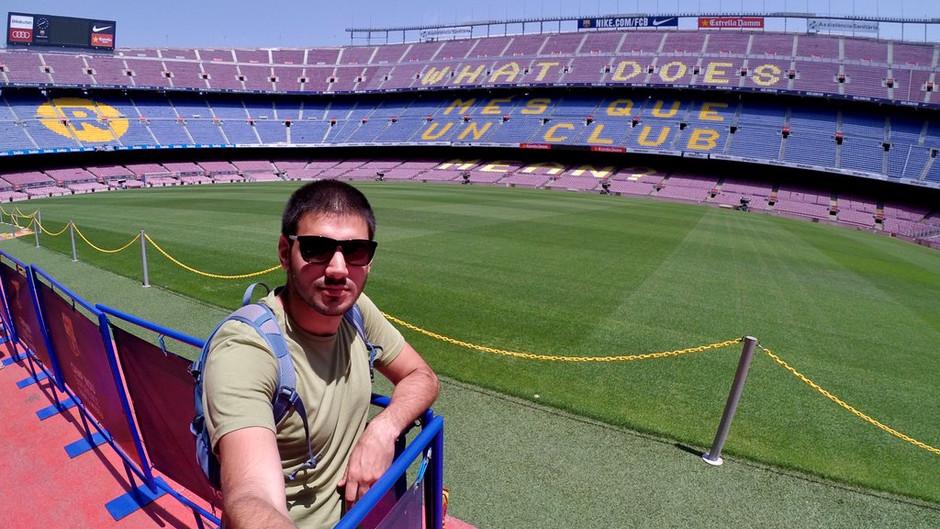 Camp Nou Tour, visitar la casa del FC Barcelona