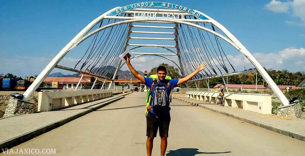 Como llegar a Timor, acá en la frontera
