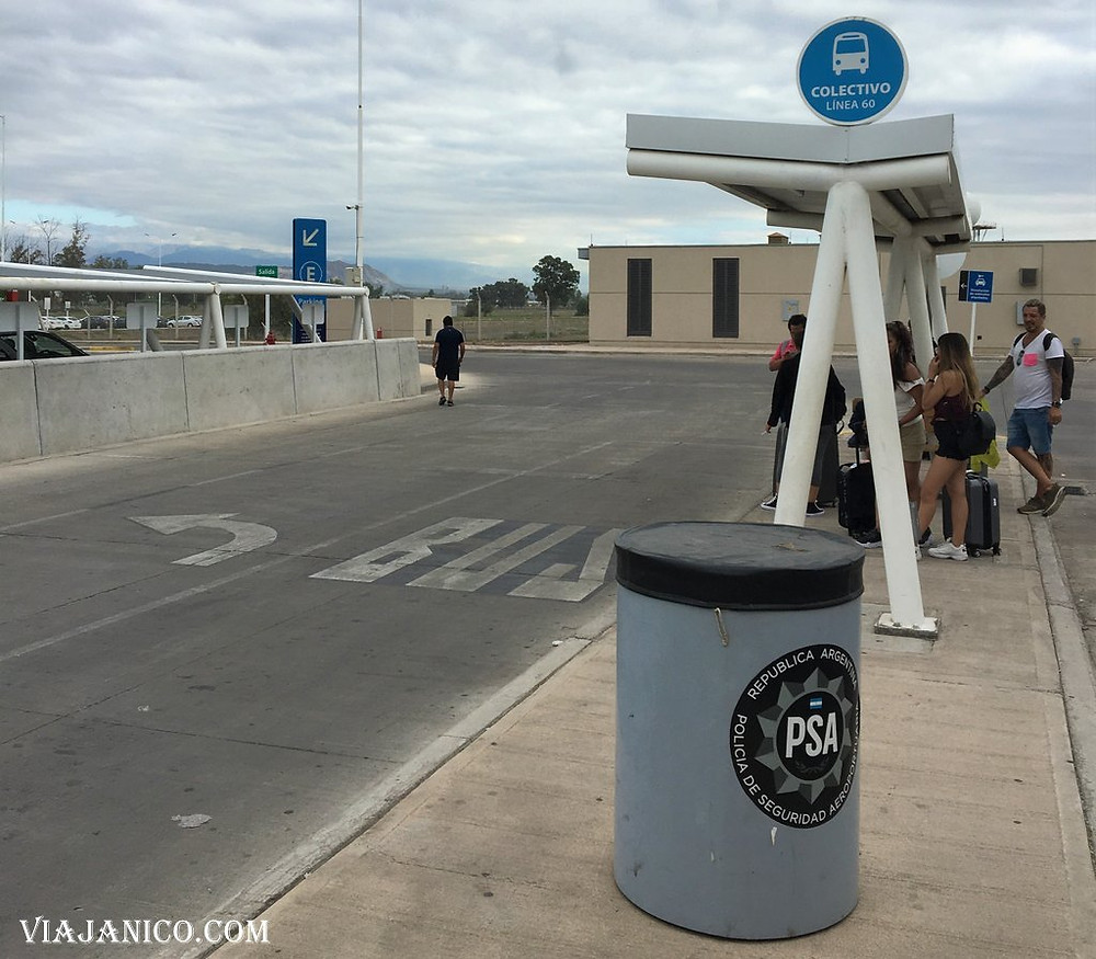 Aeropuerto de Mendoza, como llegar al centro