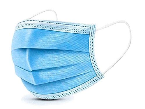 Masques 3 plis Bleu