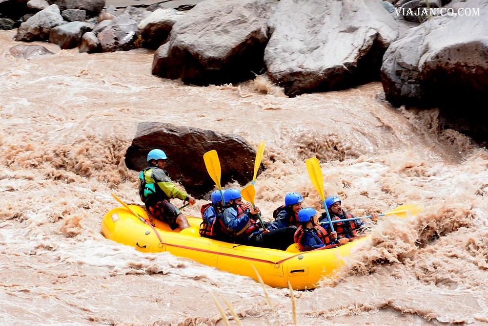 Rafting en Mendoza