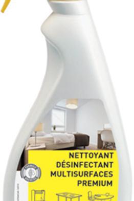 Nettoyant Désinfectant Multi Surface Premium Surface 750 ml