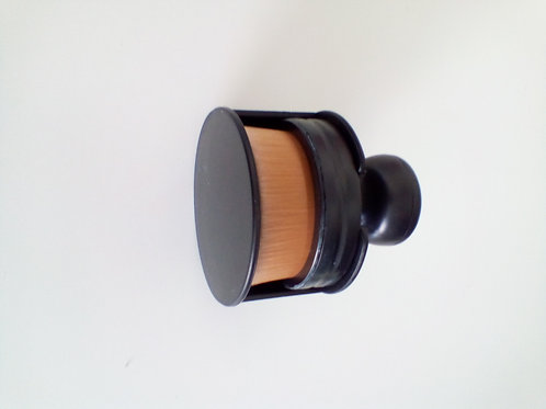 Brosse Maquillage contouring ronde avec support
