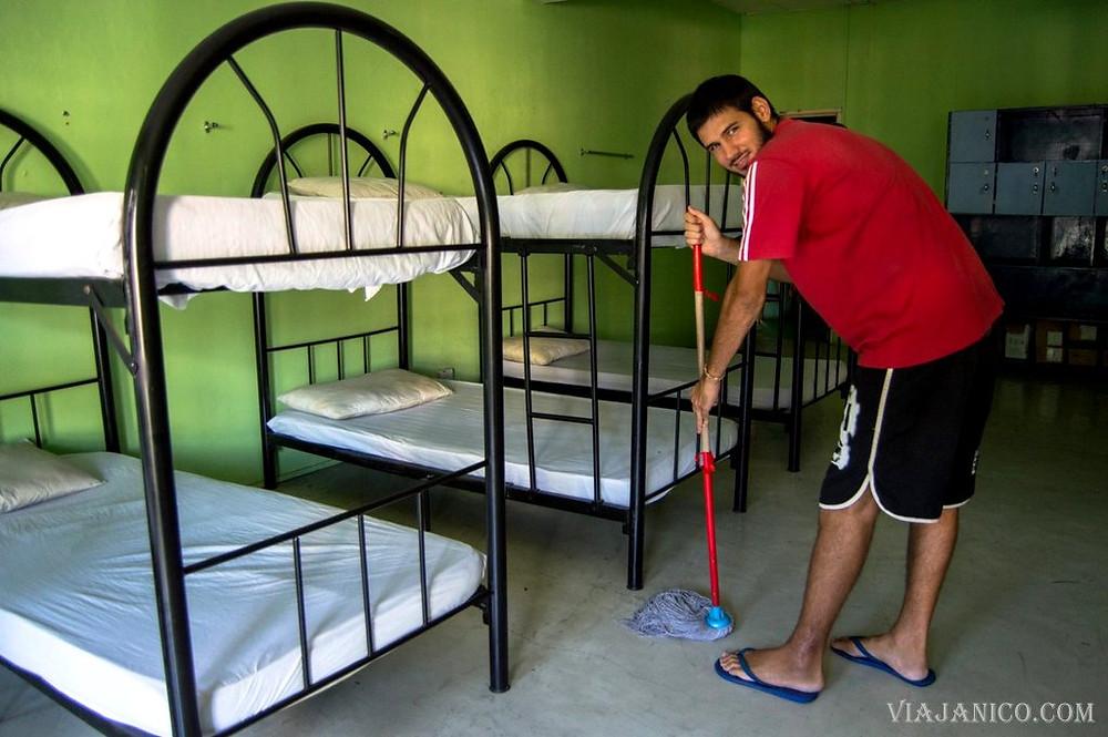 Mi experiencia como voluntario en un hostel