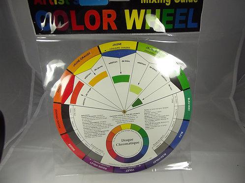 Cercle chromatique diamètre 23cm