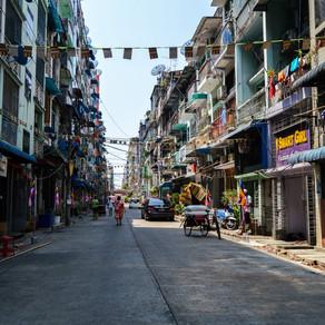 La atrapante (ex) capital de Myanmar: Yangón