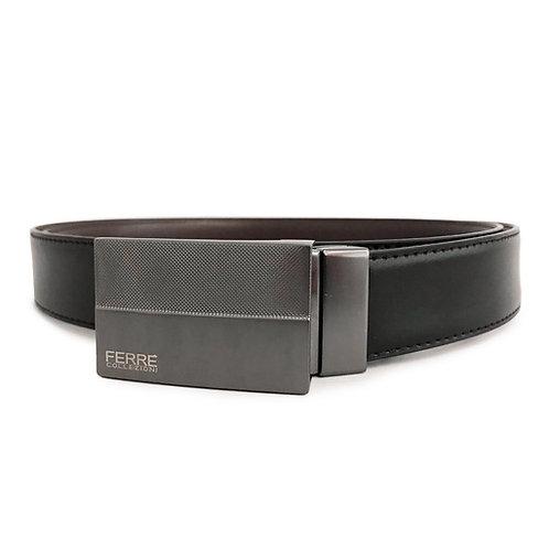 Cintura pelle HX3567 plain - Ferrè Collezioni