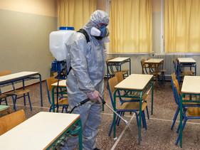 Okul Dezenfekte