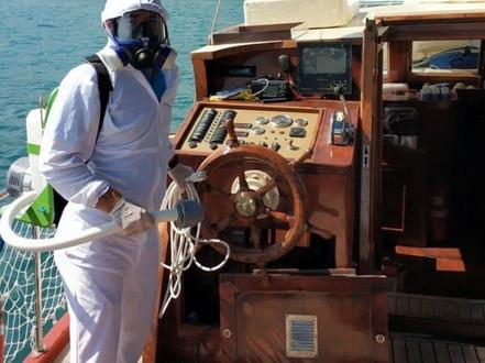 Gemi- Tekne- Yat Dezenfekte