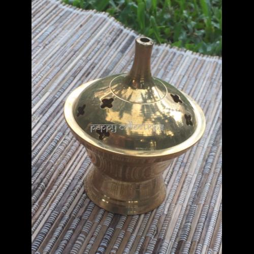 Brass Incense Cone Burner