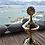 Thumbnail: Brass Incense Cone Burner - SUN